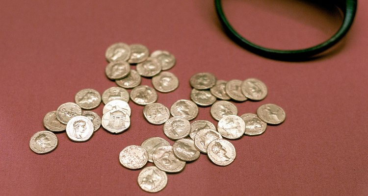 Many Viking and Roman treasures have been dug up in Britain.