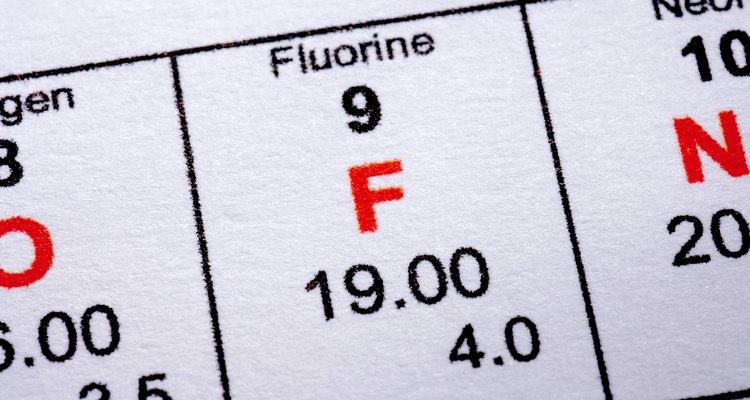 El flúor es el elemento más electronegativo.