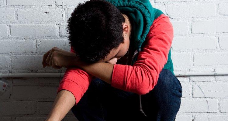 Un adolescente emo perturbado.