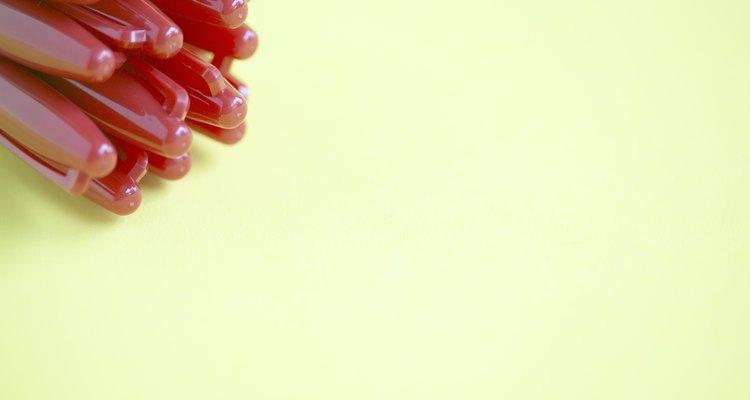 Los marcadores de tiza son a prueba de borrones y vienen en múltiples colores.