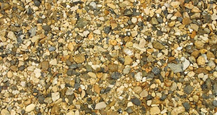Procure por transparência na pedra