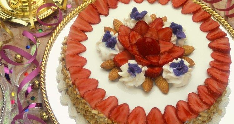 Coloca las fresas en circulo, alrededor de la fresa central