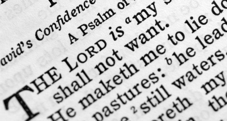 El libro de los Salmos tiene muchos himnos de alabanza a Dios.