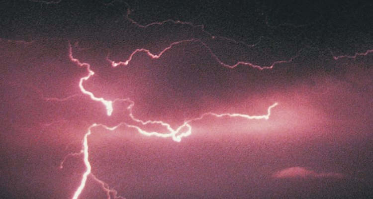 Thunderstorms are typical during the monsoon season in the Southwest U.S.
