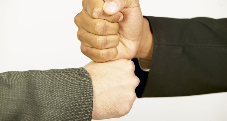 Batendo as mãos
