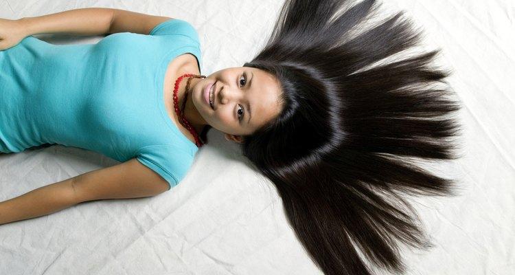 Puedes tener pelo brillante libre de frizz.