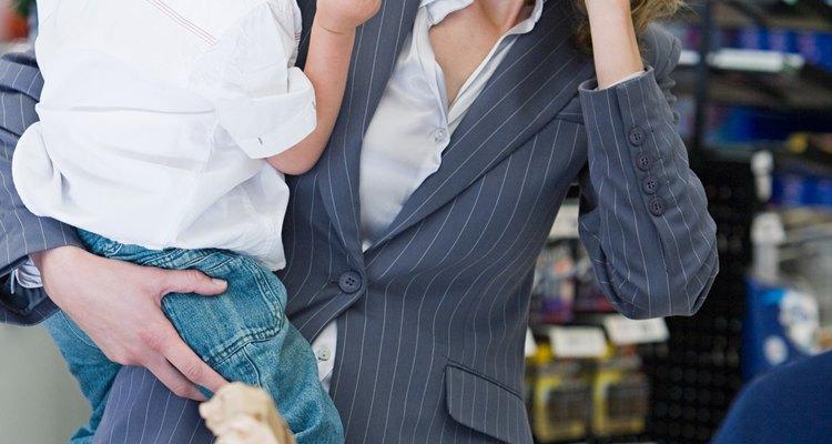 Muitas empresas permitem que os funcionários levem os filhos no final do ano, quando as crianças estão de férias