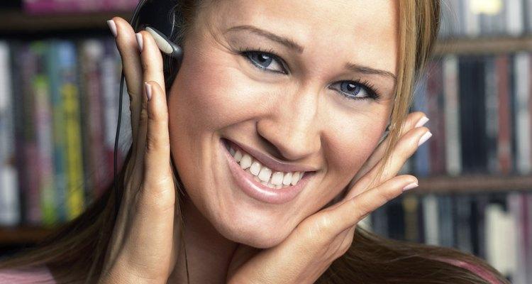 O som estéreo cria um agradável efeito 3D para o ouvinte