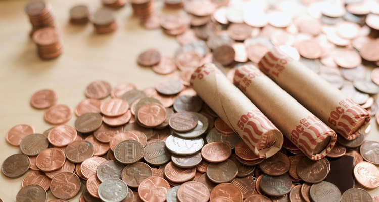 Faça os seus embrulhos de moeda para organizar as moedas soltas