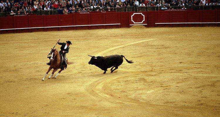 Las corridas de toros forman parte de las fiestas mayores.