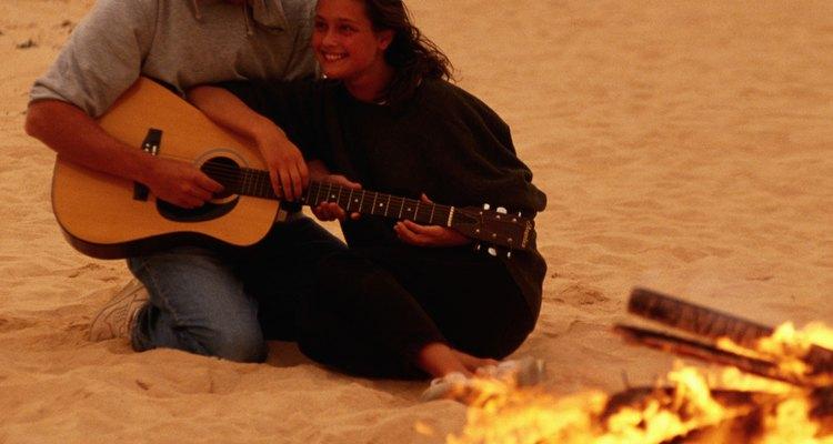 Un campamento rústico con tu pareja..., ¿qué más puedes pedir?
