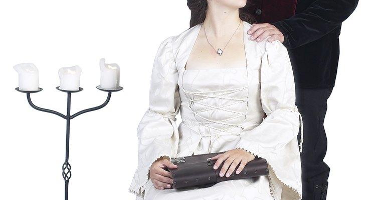 O estilo do vestido renascentista era digno de uma rainha