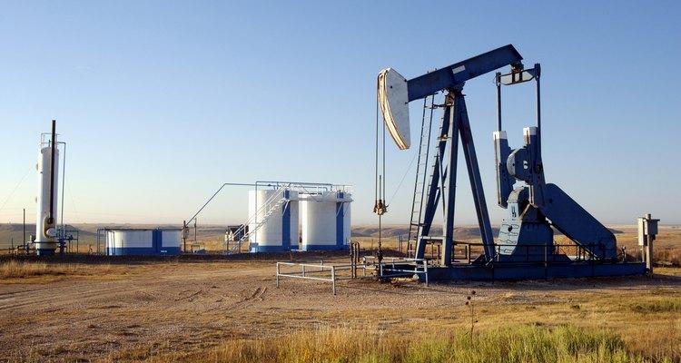 Perfuração em busca de petróleo