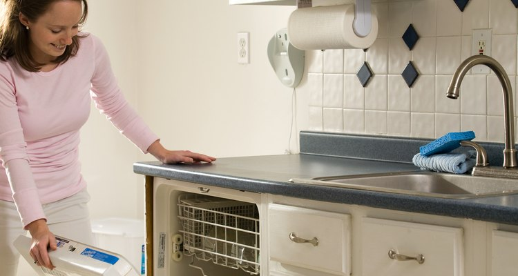 A properly cut laminate countertop will have a finished look.