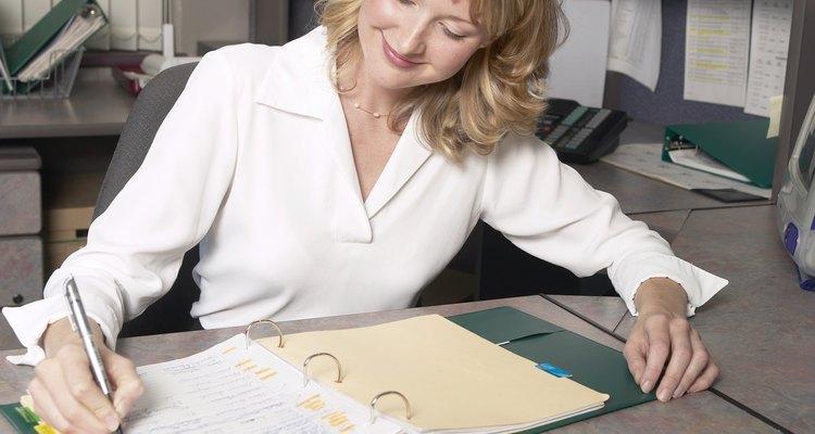 Assistentes administrativos são mais produtivos com metas e objetivos