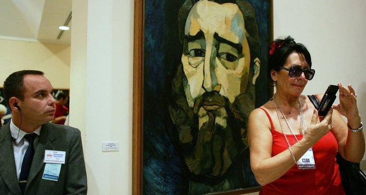 La obra de Guayasamín ha sido expuesta en las mejores galerías del mundo.