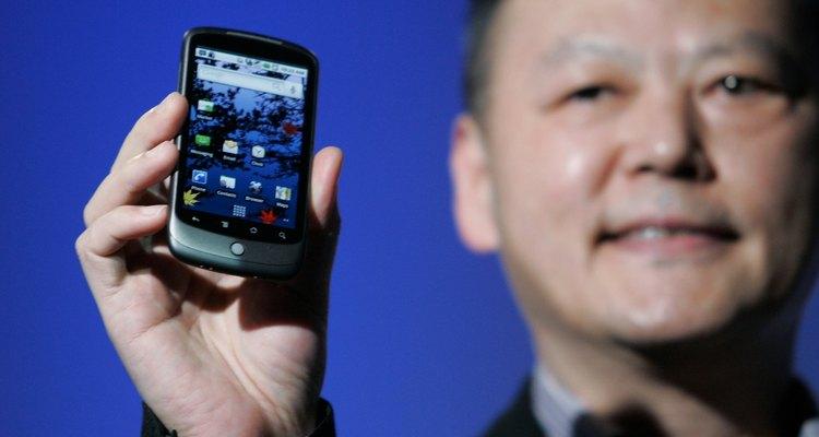 O Google Nexus One foi o primeiro telefone Android a apresentar a função de live wallpapers