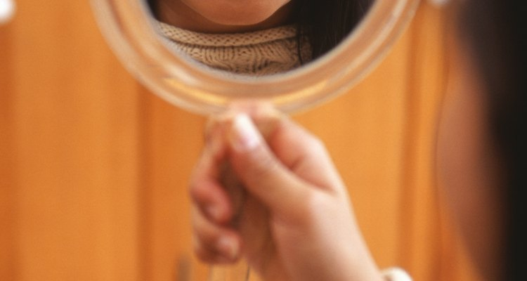 Dê a uma dançarina seu próprio espelho portátil