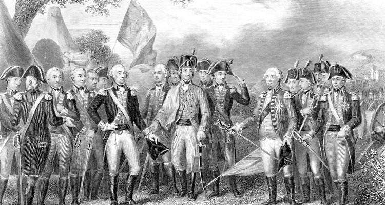 Batalla de Yorktown (1781).