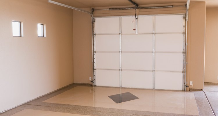 There are several options for garage ceilings.