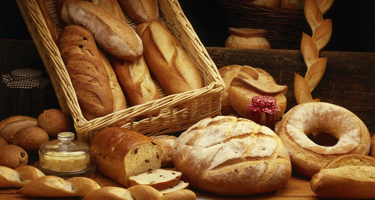 Substitute your normal bread basket for a basket made out of bread.