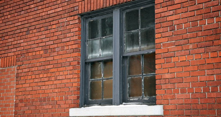 Double-pane windows are side by side in some buildings.