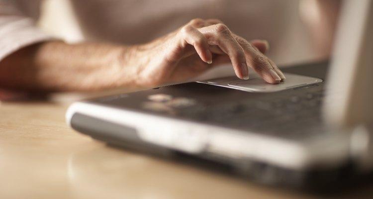 El panel táctil se utiliza en las laptop como un reemplazo para el ratón estándar.