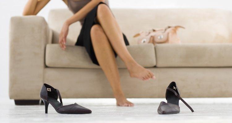 Escolha um sapato confortável