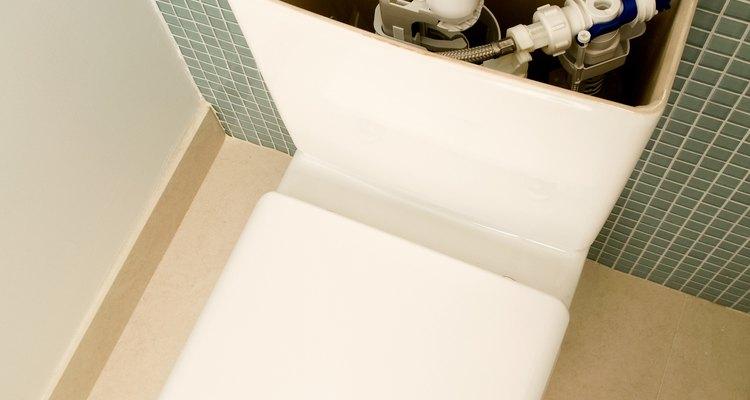 Adjust your toilet tank float if needed.