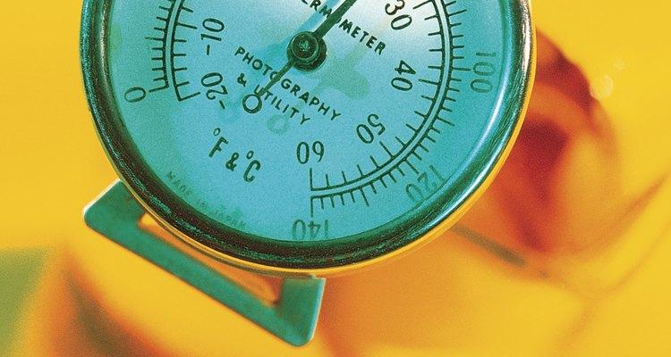 Sempre certifique-se de que o frando está na temperatura correta