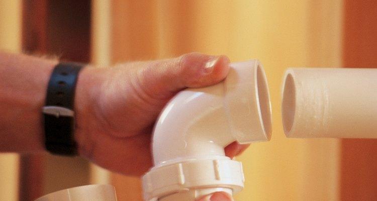 O PVC é o material mais utilizado nos encanamentos