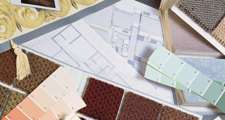 Selecione papel contact que combine com o cômodo ou área