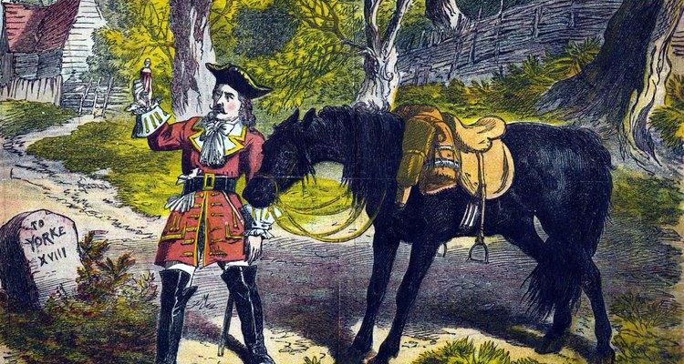 El infame ladrón, Dick Turpin, era bien conocido por robar caballos.
