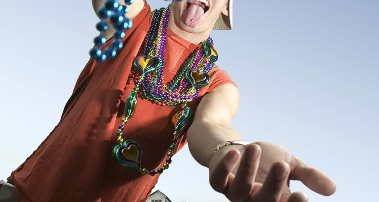 Celebra con Mardi Gras fiestas temáticas, graduaciones y carnavales.