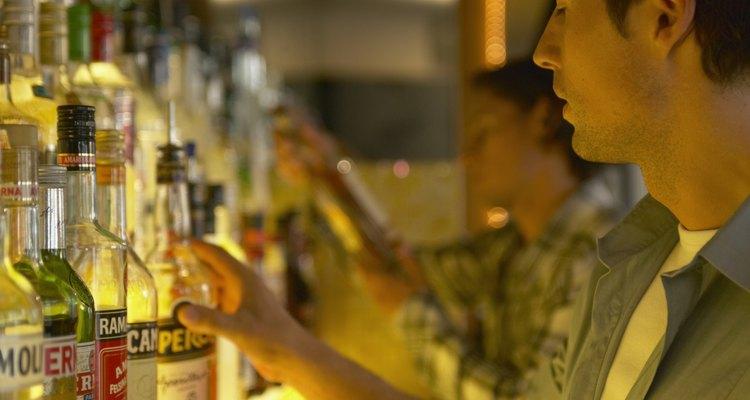 Com o tempo, o álcool das bebidas evapora