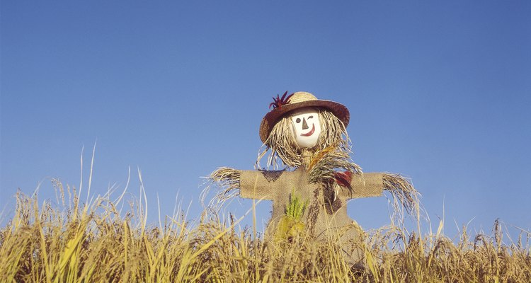 Making scarecrow hair doesn't have to be complicated.