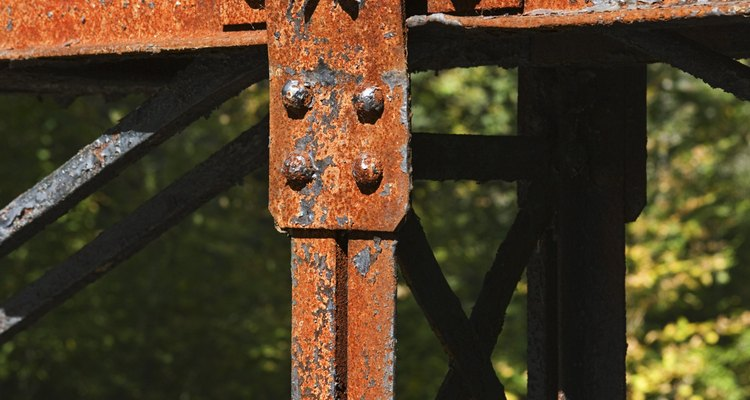 Rust can add  considerable visual interest to a landscape or still life.