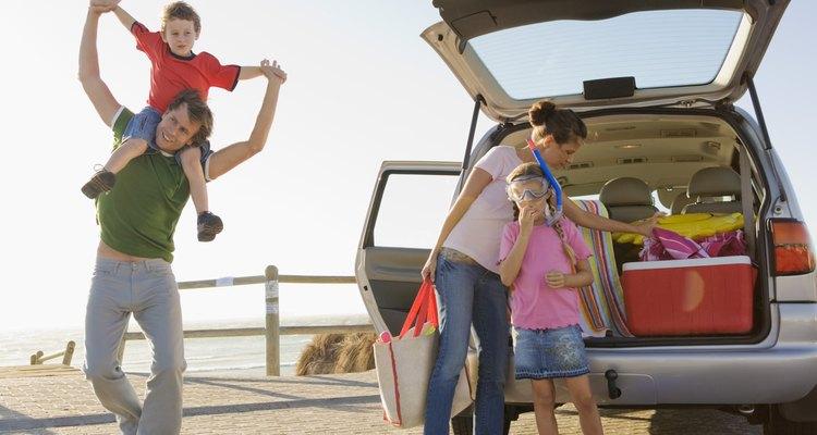 O carro é uma grande mala para sua família