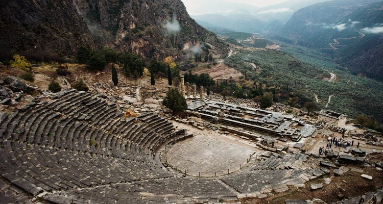 Greek ampitheaters were the forerunners of modern ampitheaters like the Hollywood Bowl.