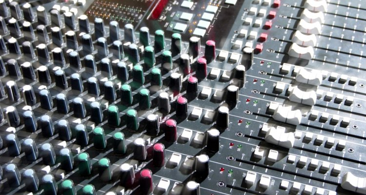 Audacity's equaliser emulates the function of an outboard mixing desk equaliser.
