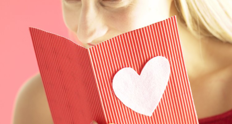 Sign a greeting card properly to let your loved one know how much you care.