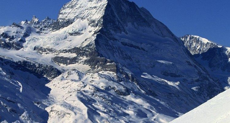 Matterhorn domina Zermatt, Switzerland.
