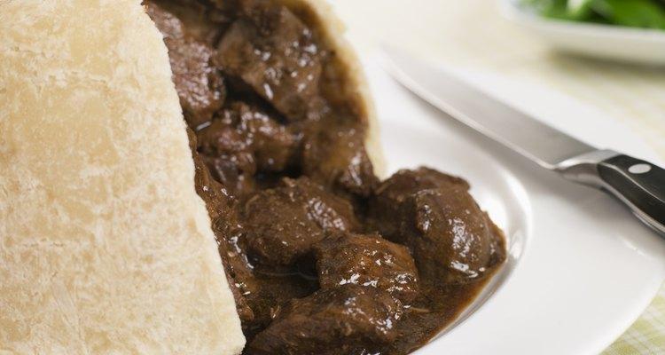 A torta de carne e rim é uma especialidade inglesa