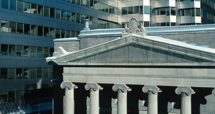 Examples of ancient Greek architecture abound in modern America.
