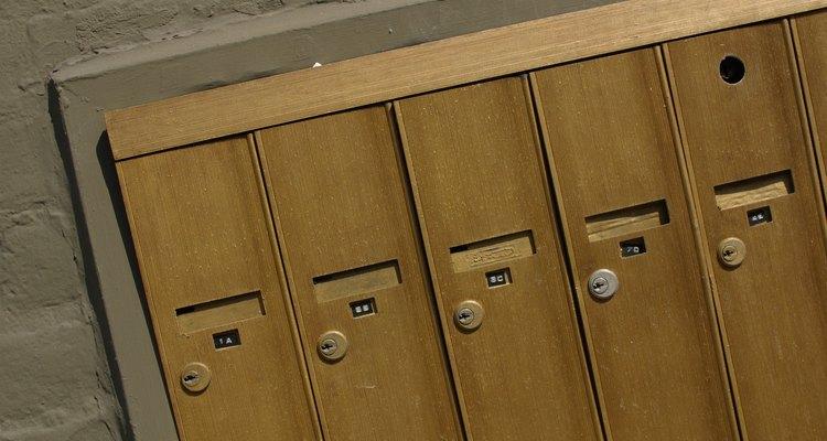 É possível trocar a fechadura de sua caixa de correspondência