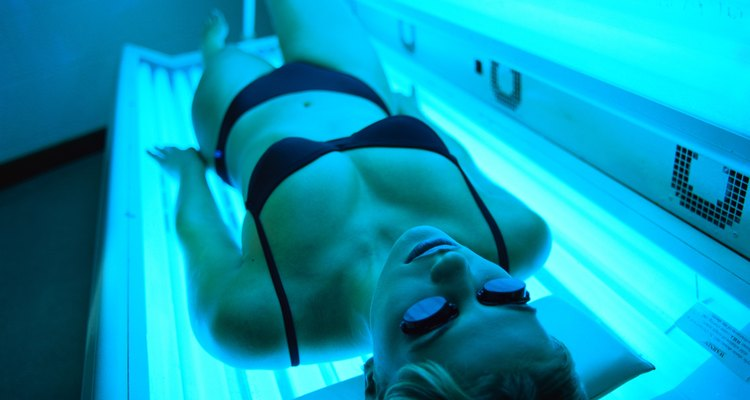 Tingle lotions are used in tanning beds to accelerate a tan's development.
