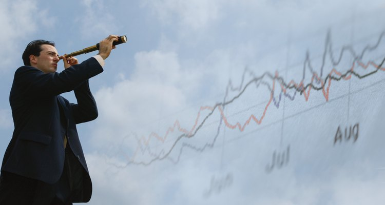 Time-series charts are the most common form of quantitative forecasts.