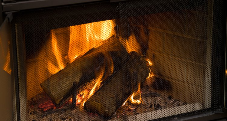 Block up a fireplace if you no longer use it or it no longer works.
