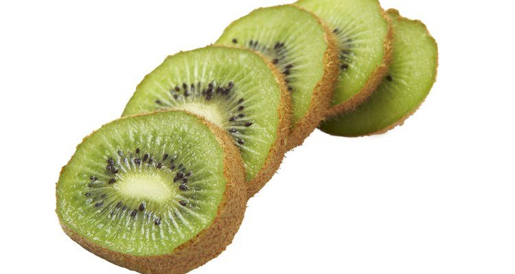 You can determine kiwi freshness by the outer appearance of the fruit.