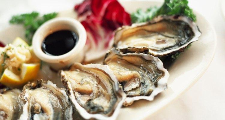 As ostras têm fama de alimento afrodisíaco